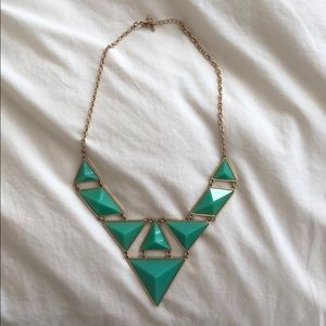 Jewelry - Gold/Jade Necklace